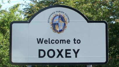 Doxey Sign